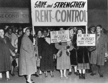 rent control cities